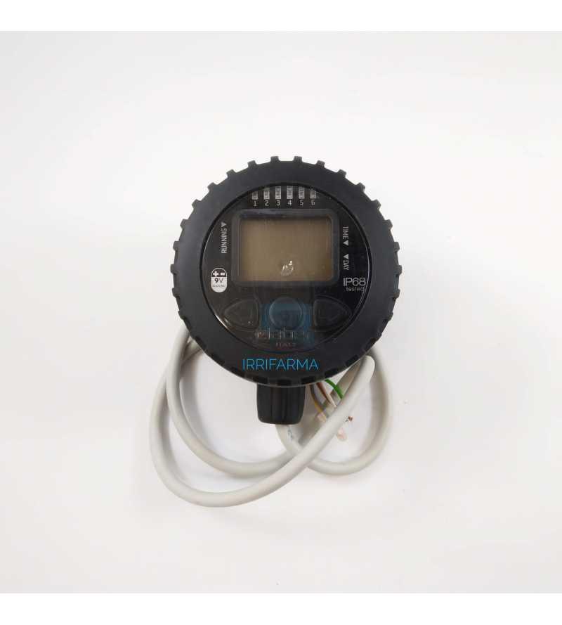 Programmatore a batteria timer 9V centralina 2 zone CLABER 90821