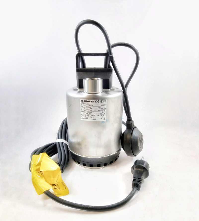 Pompa sommersa per acque reflue Doc 7/A elettropompa con galleggiante