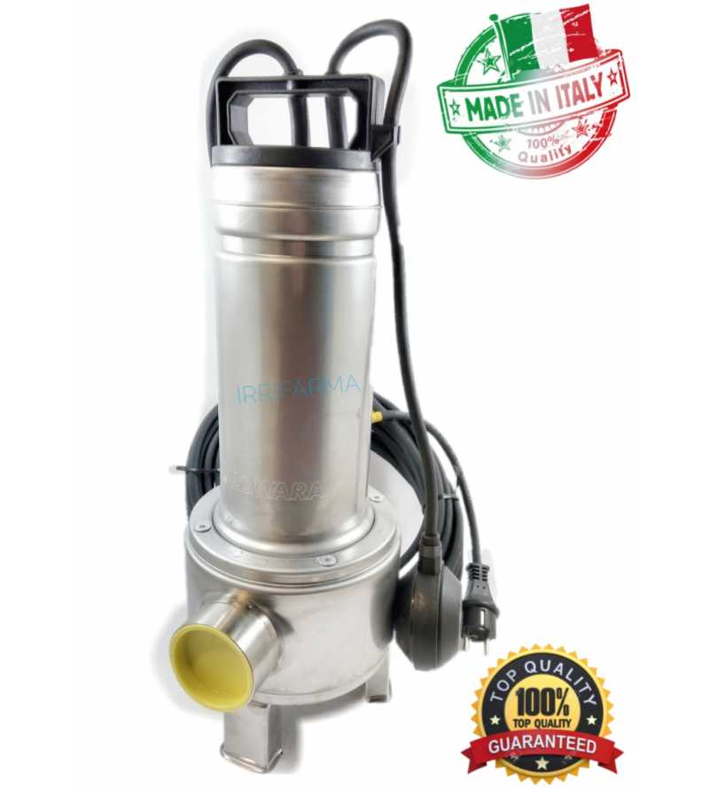 Pompa per acque sporche nere luride reflue scure fecali Lowara DOMO 10/B monofase elettropompa monocanale