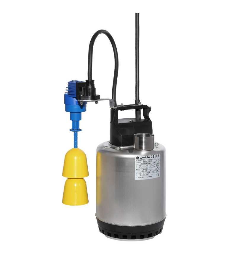 Pompa acqua sporche chiare reflue acque irrigazione elettropompa sommersa Lowara DOC 3 7 GW GT