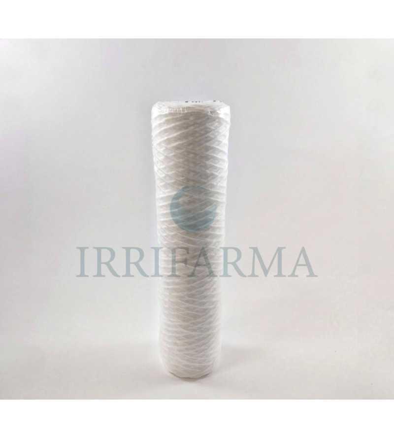 Cartuccia elimina impurità particelle in sospensione sedimenti a filo avolto 5 micron per filtri a bicchiere da 10