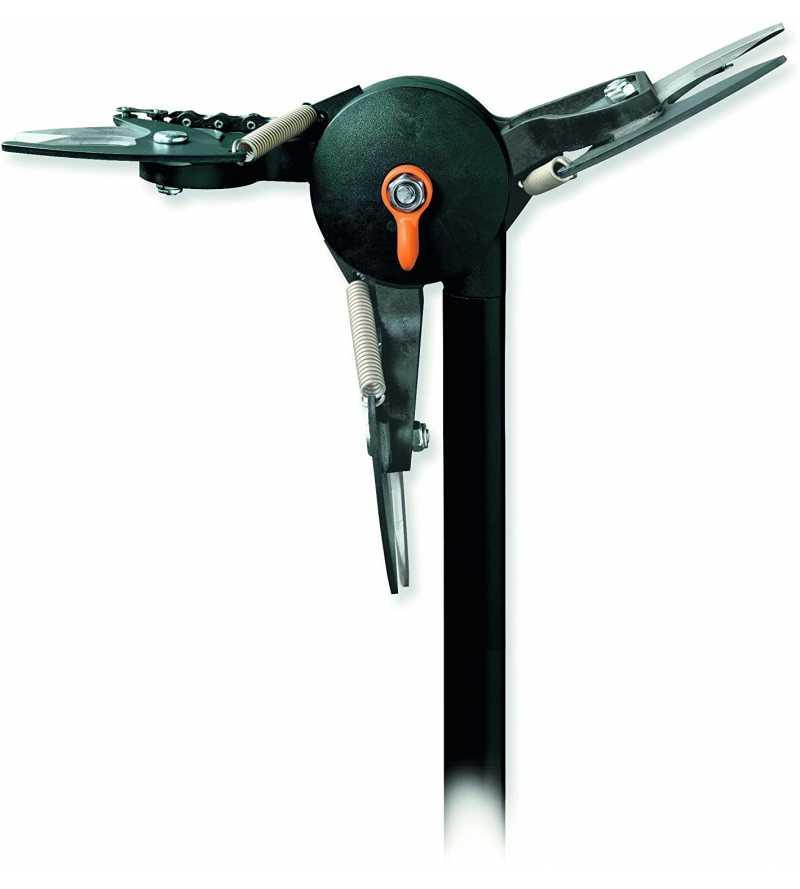 leva pomello Troncarami telescopico con seghetto Svettatoio universal cutter Fiskars 1001641