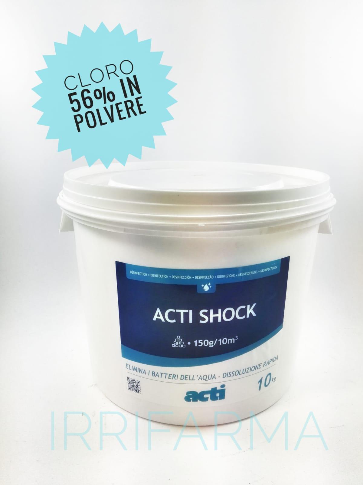 Cloro per piscine 10 kg dicloro granulare 56 in polvere for Cloro per piscine