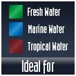 Pompa acquario acqua dolce marino tropicale